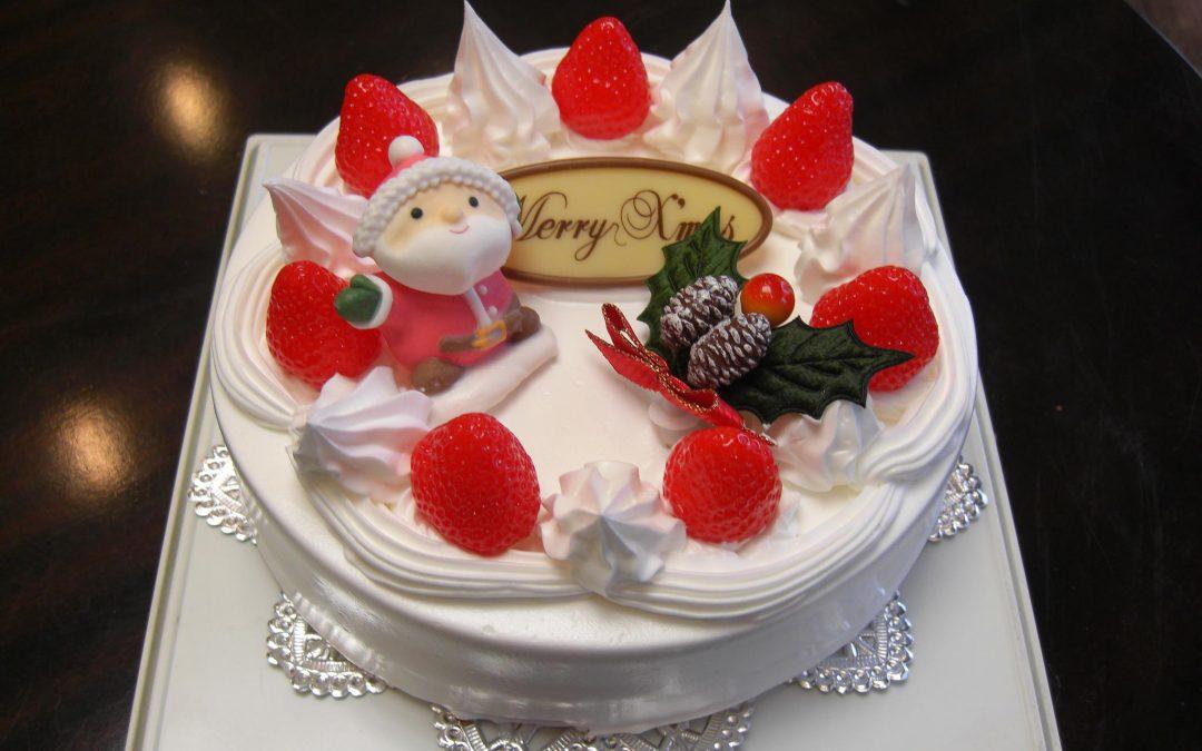 クリスマスケーキ予約受付中!12月17(火)まで(終了)